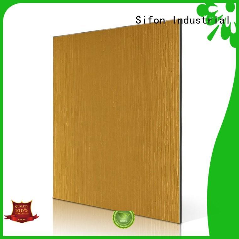 acp aluminium composite panel granular for daily life AULAND