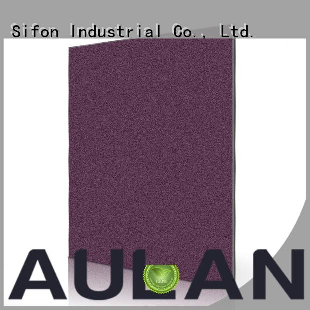AULAND 5052 Aluminum plate Flat aluminium composite panel price in bangladesh sheet for hard-dry concrete