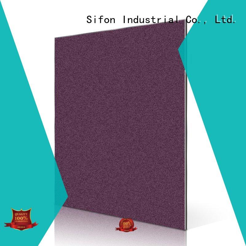 DIY Material for Model Vehicles Boat acm panel fabrication aluminum China manufacturing for hard-dry concrete