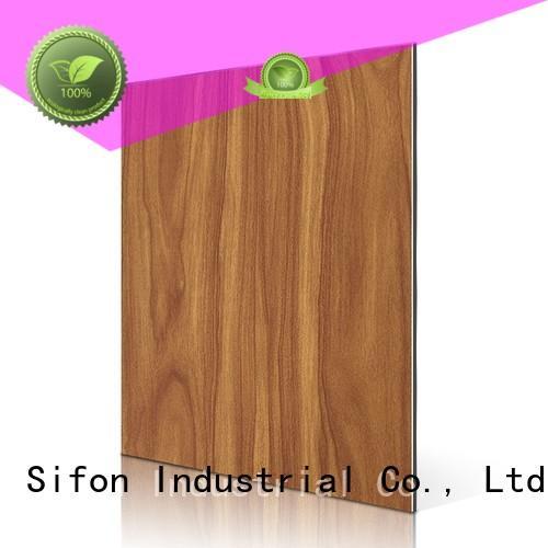 Custom matt water acp sheet AULAND wood