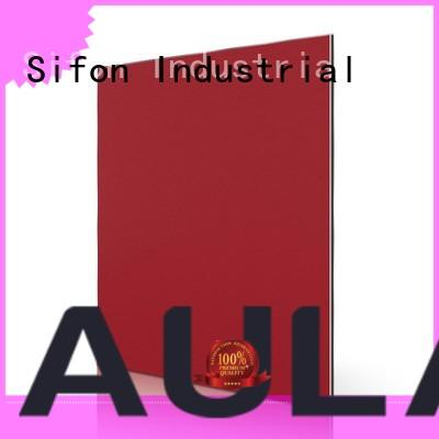 AULAND Brand white acp aluminium composite panel specification board supplier