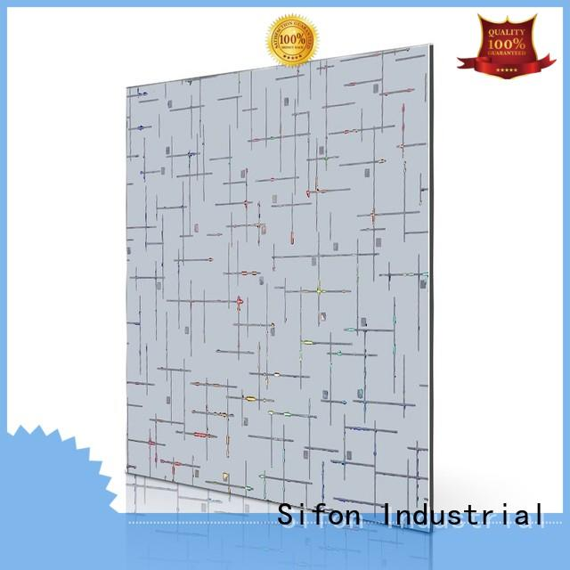 aluminum composite panel price philippines laser lines Bulk Buy panel AULAND