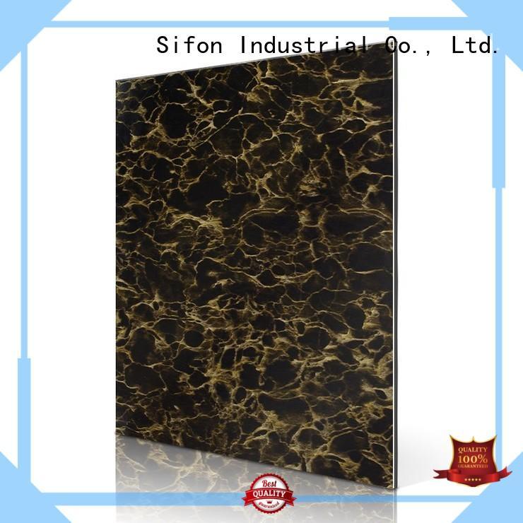 zebra portoro aluminium composite panel china AULAND manufacture