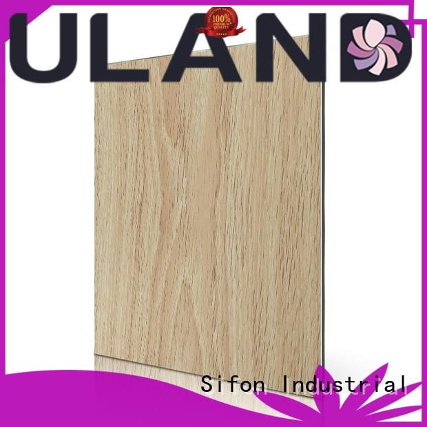 AULAND good quality aluminum composite panels canada factory price environmental protection