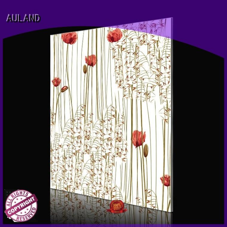 aluminium composite panel indonesia pattern tree AULAND Brand company