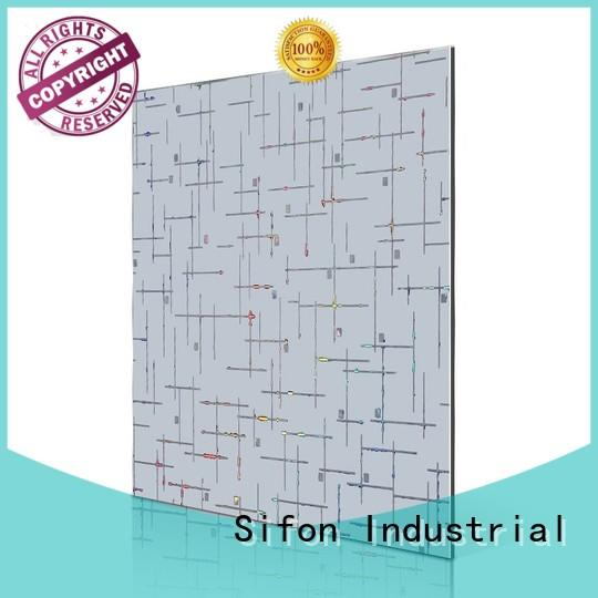 big acp aluminium composite sheet waves AULAND Brand company