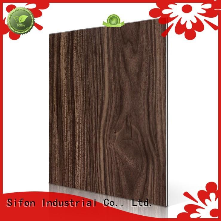 alucobond aluminium composite panel dark AULAND