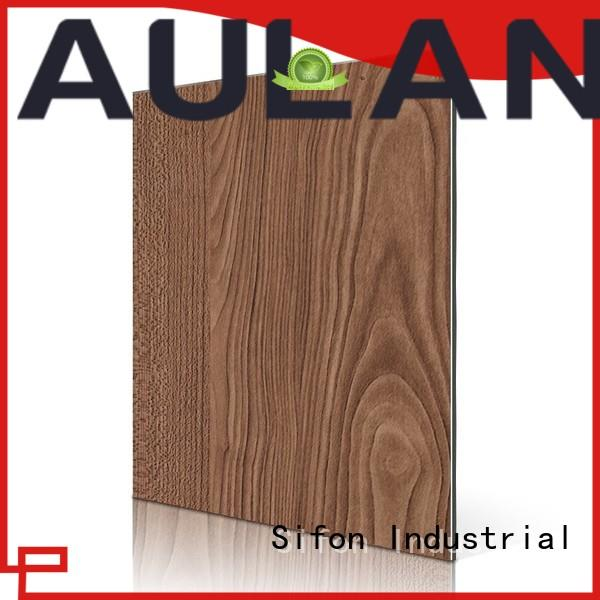 AULAND good quality aluminum composite panel thickness manufacturer advanced technology