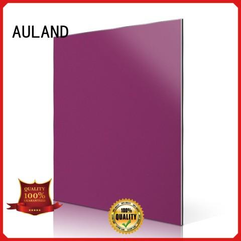 AULAND simple acm aluminum composite panel directly sale for construction site