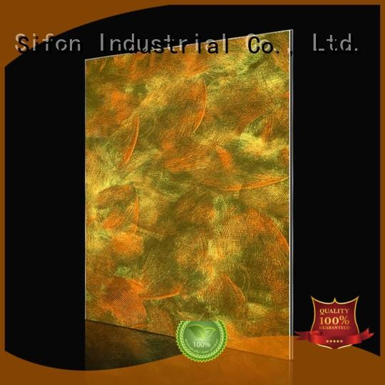 sheet wall acm composite panel style AULAND company