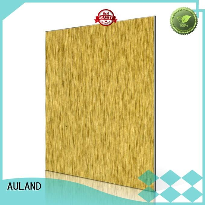 brush acp composite acm panel price nz AULAND Brand