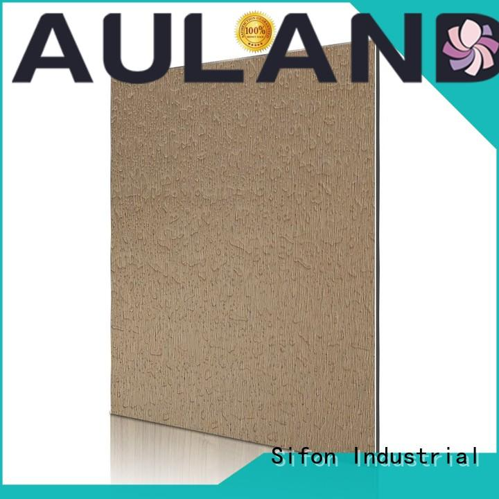 AULAND material acp sheet price stronger for daily life