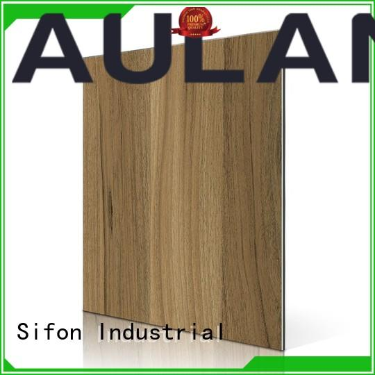 AULAND good quality aluminum composite panel thickness supplier advanced technology