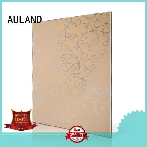 AULAND Brand composite aluminium 3mm acm panel aluminum factory