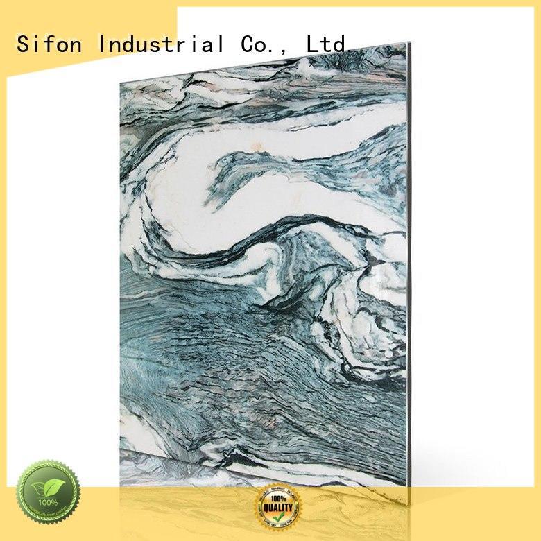 cladding alpi acp aluminium sheet aluminum Sifon company
