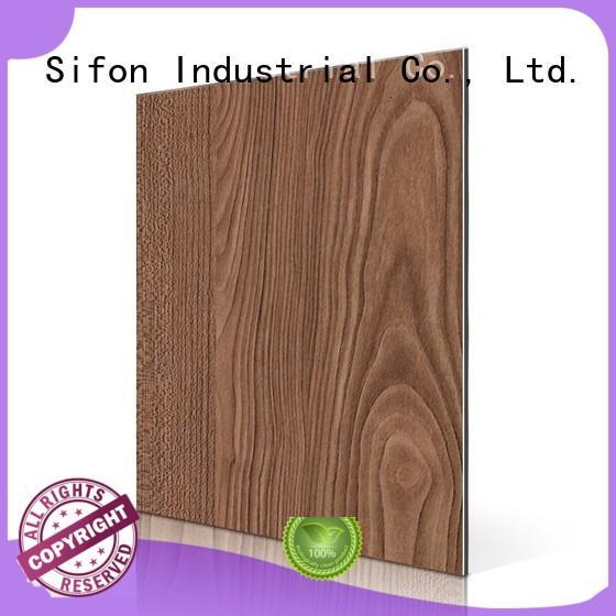 AULAND Brand acm maple aluminium composite panel rate material