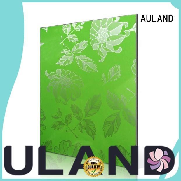 Hot aluminium composite sheet price blossom AULAND Brand