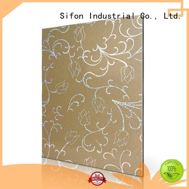 big metallic aluminium composite sheet composite AULAND