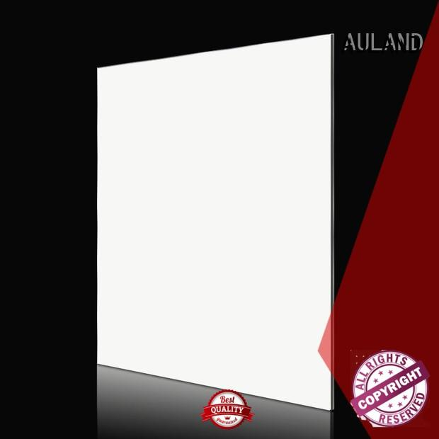 aluminium composite panel specification black acp decorative wall panels AULAND Brand