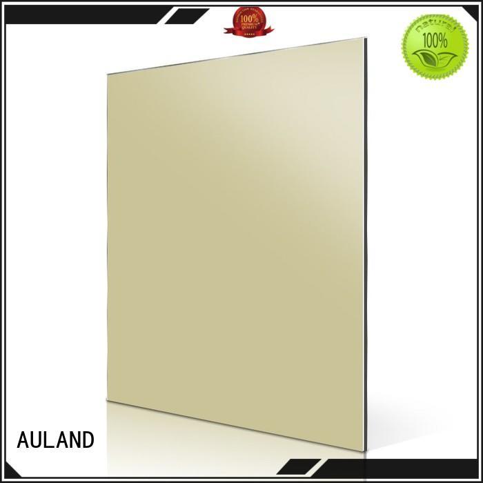 AULAND good quality acm aluminum composite panel directly sale for construction site