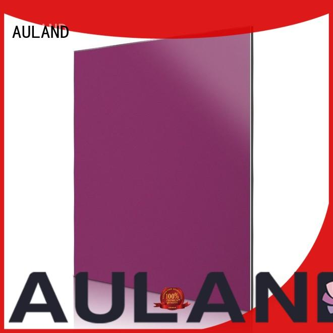 professional acm metal panel details purple directly sale for concrete production