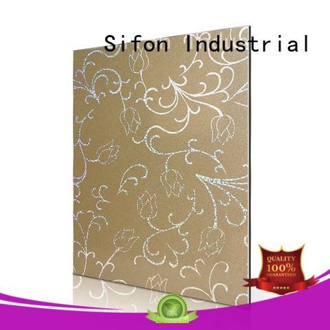 purple aluminum composite materiallotus buy wholesale online for factory buildings