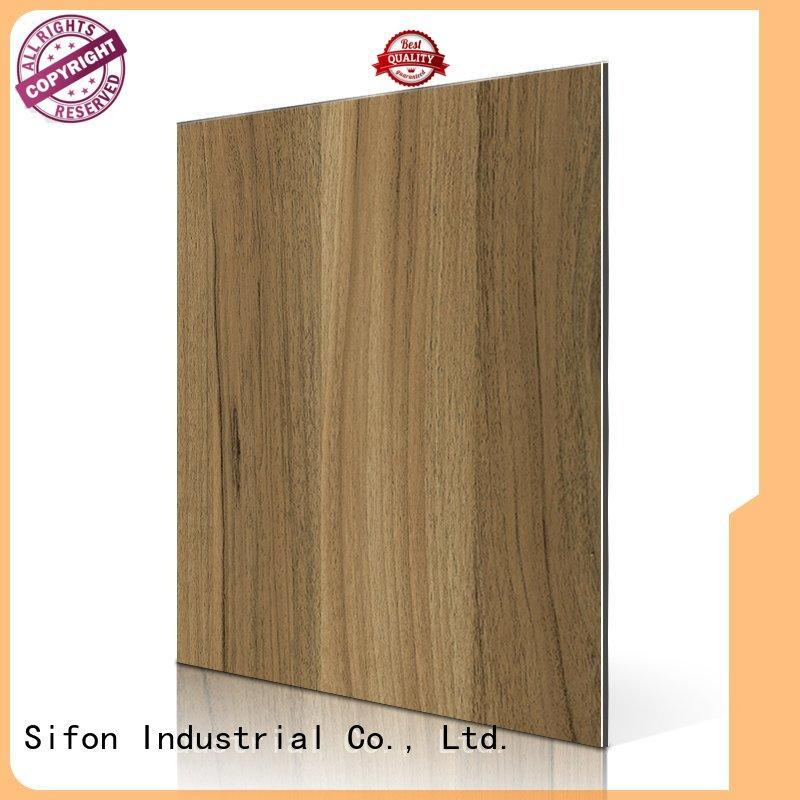 beech texture 3d AULAND Brand acp sheet supplier