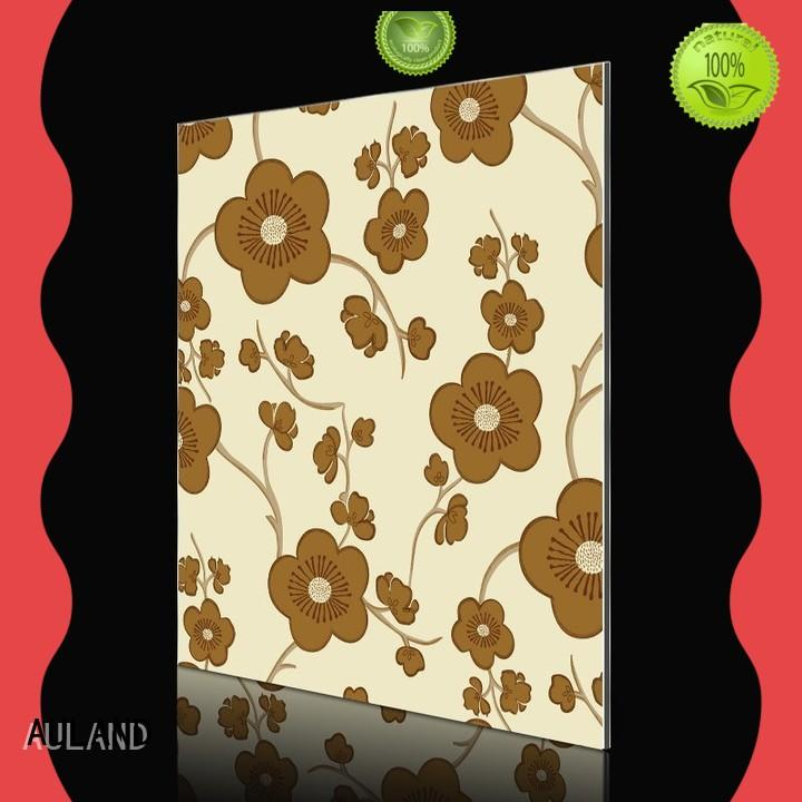 AULAND fashion aluminum composite sheet suppliers factory price for tower