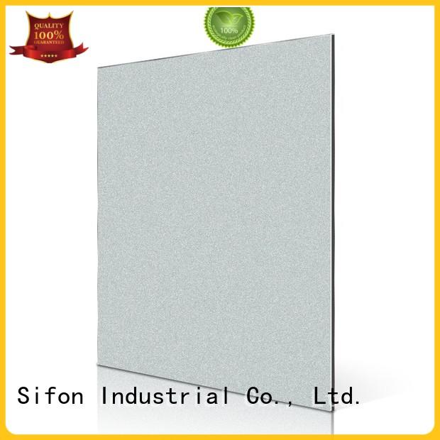 AULAND purple acm panel fabrication China manufacturing for hard-dry concrete
