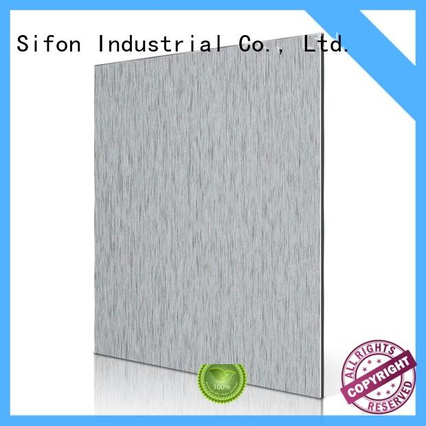 silver acm panel price nz supplier for city road