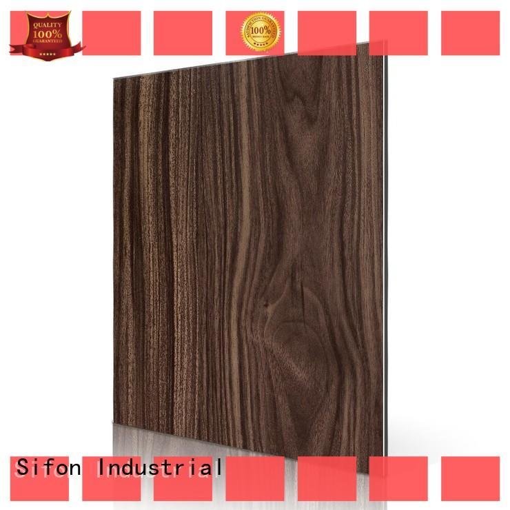 AULAND dark acm panel price 3D Wall Stickers Marble Brick Waterproof