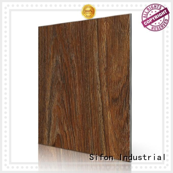 Quality AULAND Brand aluminium composite panel rate 3d beech