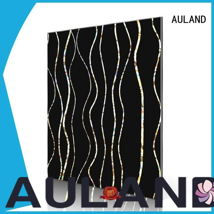 AULAND cross aluminium composite panel suppliers wholesale suppliers for factory buildings
