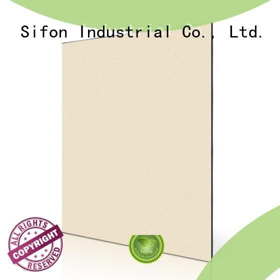 Construction Frame Metal aluminium composite panel pdf China manufacturing Dining room furniture AULAND