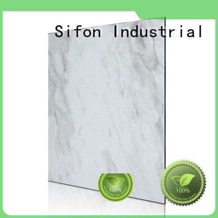 Custom portoro acp wall panels botticino aluminium composite panel china