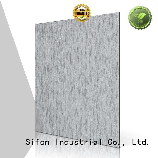 Custom acm panel price nz black brown panel Sifon
