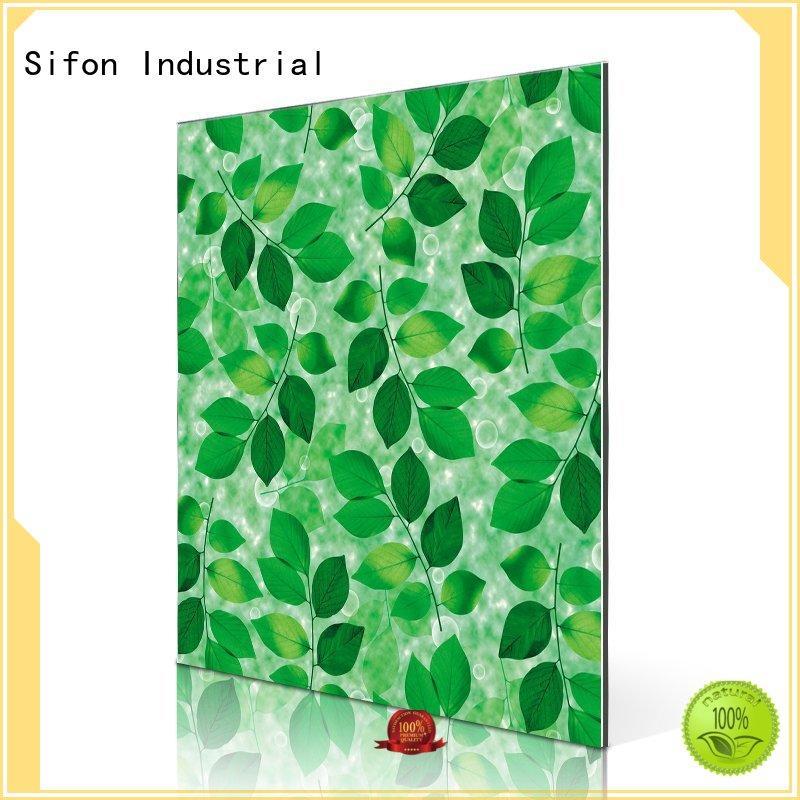 aluminium composite panel indonesia board composite aluminium composite sheet price pattern AULAND Brand