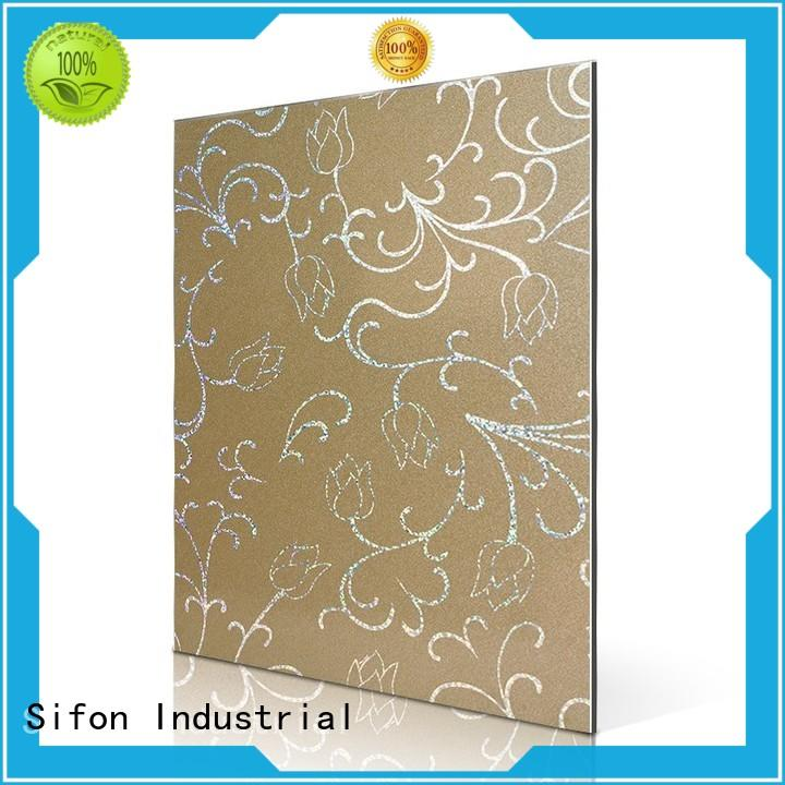 AULAND rainbow aluminium composite panel price buy from China for construction site