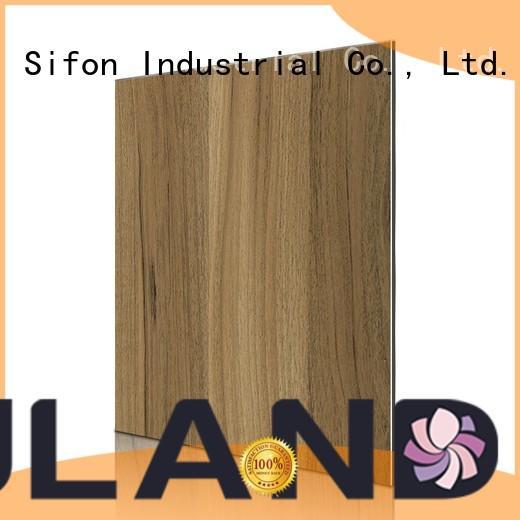 wood aluminium composite panel rate peach maple AULAND Brand