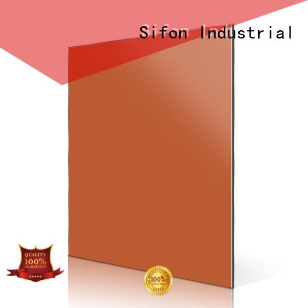 AULAND Brand price composite red custom aluminium composite panel fixing