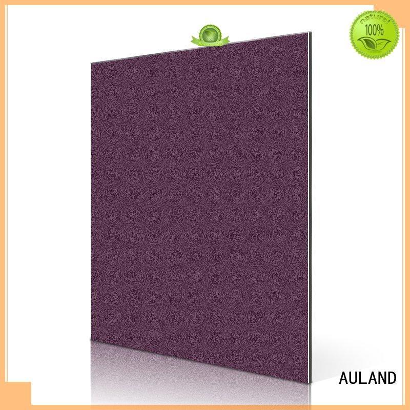 Hot silver 3mm acm panel acp price AULAND Brand