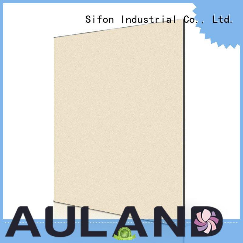 AULAND Brand gold aluminium composite panel cladding price grey supplier