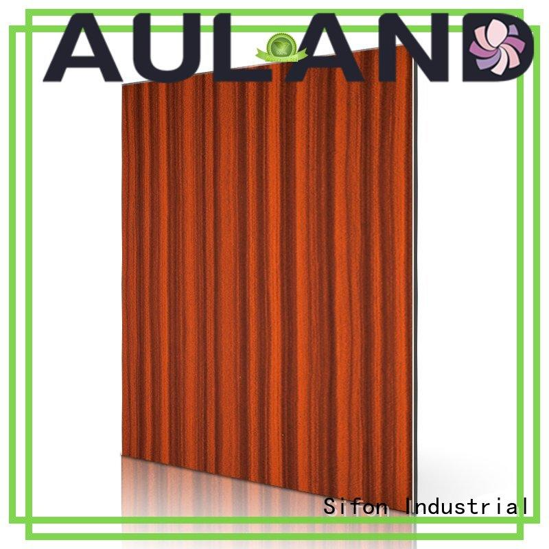 AULAND wholesale products acp panel thickness 3D Wall Stickers Marble Brick Waterproof for hotels