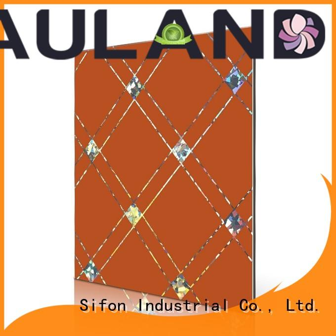 green aluminum composite panel price sf2607alr buy direct from China factory for hotels