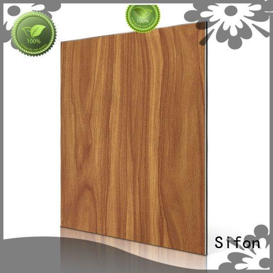 composite purple Sifon Brand acp aluminium composite panel
