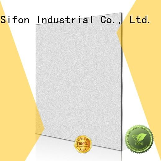 gold champagne cladding building acp panels india AULAND