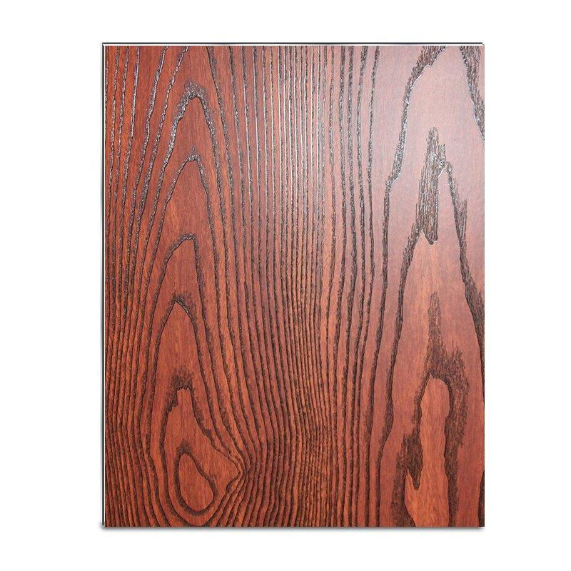 SAA30603-PVC Black Wood Skin acp wall panels-2