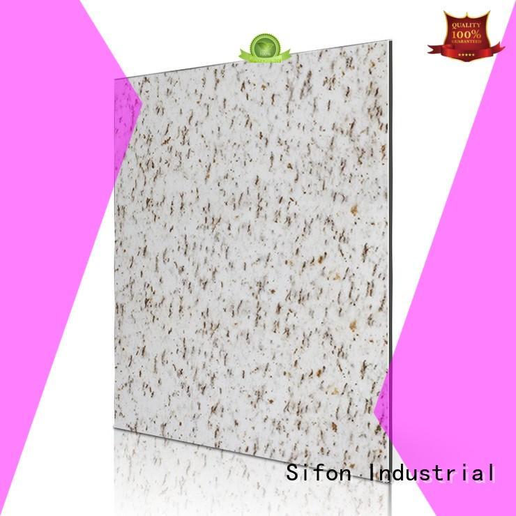 panels alpi white acp aluminium sheet Sifon