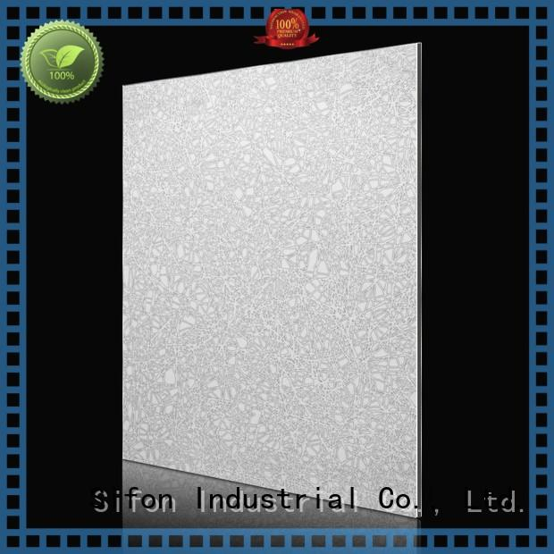 wall designs blue acm composite panel fan AULAND Brand