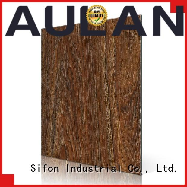 AULAND beech aluminum composite panels canada factory price directly price
